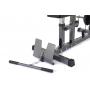 Posilovací lavice s kladkou TRINFIT Multi Lat opěrka nohyg