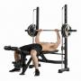 Posilovací lavice na bench press Tunturi SM60 Half Smithcvik 4g