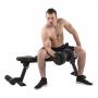 Posilovací lavice na břicho TUNTURI FB80 Flat Bench cvik1g