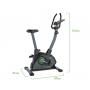 Rotoped TUNTURI Cardio Fit B35 Heavy Bike rozměry