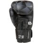 Boxerské rukavice 14 oz kůže Leopard BAIL Black image inside