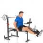 Posilovací lavice na bench press Hammer Bermuda XT Pro kopač