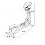 Proform Smart Strider 495 CSE rozměry trenažeru