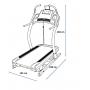 Běžecký pás Incline Trainer X7 i rozměry