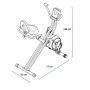 Recumbent Proform X-Bike Duo rozměry
