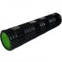 Masážní válec Foam roller 61 cm TUNTURI černo-zelený