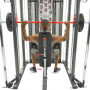 Posilovací lavice s kladkou FINNLO MAXIMUM SCS Smith Cage System cvik tlaky na ramena