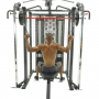 Posilovací lavice s kladkou FINNLO MAXIMUM SCS Smith Cage System cvik záda