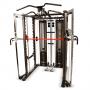 Posilovací lavice s kladkou FINNLO MAXIMUM SCS Smith Cage System konstrukce