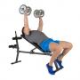 Posilovací lavice na břicho Hammer 4516 AB Bench Perform One šikmý bench nahoru