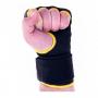 Gelové rukavice DBX BUSHIDO žluté pěst 2