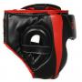 Boxerská helma DBX BUSHIDO červeno-černá strana