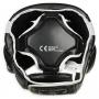 Boxerská helma DBX BUSHIDO černo-bílá zeshora
