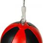 Reflexní míč, speedbag DBX BUSHIDO ARS-1164 černo-červený 2