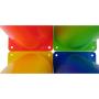 Plastové tréninkové kužely TUNTURI - 10 ks barvy