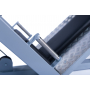Legpress hacken a dřep kombinovaný na cihly madlo