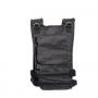 Zátěžová vesta DBX BUSHIDO 1-40 kg zezadu