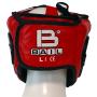 Boxerská přilba - kůže SPARRING - FIGHT BAIL červená zezadu