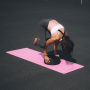 Jóga kolečko yoga wheel EVA TUNTURI černé 33 cm workout 1