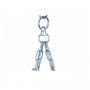 Boxovací pytel DBX BUSHIDO Elite 130 cm, modrý - prázdný řetěz