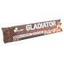 OLIMP Gladiator protein bar 60 g brownie