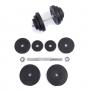 Činky jednoručky Jednoruční činka 10 kg PVC