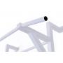 Kovové ribstole Ribstole kovové s hrazdou bílá hrazda detail