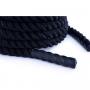 Posilovací lano Battle rope 15 m DBX BUSHIDO držadla