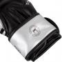 VENUM boxerské rukavice Challenger 3.0 černé stříbrné detail