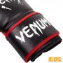 VENUM dětské boxerské rukavice Contender Kids černé červené omotávka