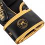 MMA sparring rukavice Challenger 3.0 černé zlaté VENUM omotávka