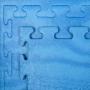 Tatami Basic 100 x 100 x 1,3 cm modré detail