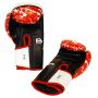 Boxerské rukavice Red Stain BAIL vel. 10 oz inside