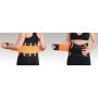 Zeštíhlovací pás - Slimming Belt MADMAX - černý detail