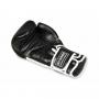 Boxerské rukavice BB5 - přírodní kůže DBX BUSHIDO ležící