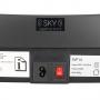 Vibrační deska Vibrační plošina HMS SKY SVP14 - zdroj + štítek