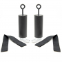 STRENGTHSYSTEM Adaptéry Pull-up grips - pohled 2