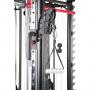 Posilovací lavice s kladkou FINNLO MAXIMUM SCS Smith Cage System - detail