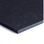 TRINFIT Gumová podložka pod činky 50 x 50 cm černá_03