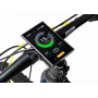 Elektrokolo Crussis e-Largo 7.5 20 modro-zelená aplikace