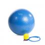 Gymnastický masážní míč HMS YB03 modrý