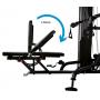 Posilovací věž  Finnlo Maximum Multi-gym M1 new zádová opěrka - 9 poloh