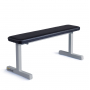 Posilovací lavice na jednoručky FITHAM Posilovací lavice rovná PROFI šedá úhel