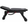 Posilovací lavice na jednoručky STRENGTHSYSTEM Hardcore Adjustable Utility Bench_z boku+polohovatelný sedák