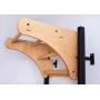 Závěsná hrazda dřevěná BenchK PB23 z boku