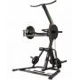 Posilovací stroj Tunturi WT85 Leverage Pulley Gym profil se závažím