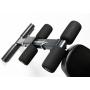 Posilovací lavice na jednoručky Posilovací lavice FLOW Fitness SMB50 opěrky pro nohy