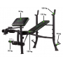 Posilovací lavice na bench press TUNTURI WB40 Basic Weight Bench nosnosti