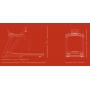 Běžecký pás FLOW Fitness DTM2500 rozměry