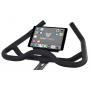 Cyklotrenažér Flow Fitness DSB600i držák na tablet